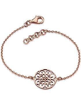 Engelsrufer Damen-Armband 925 Silber teilvergoldet 16.0 cm - ERB-ORNA-R