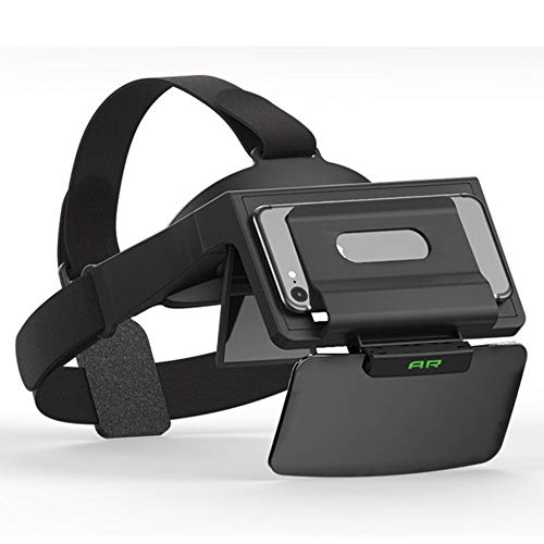 Sen-Sen shinecon Virtual Reality 3D Brille Headset AR Brille für iOS/Android Handys schwarz