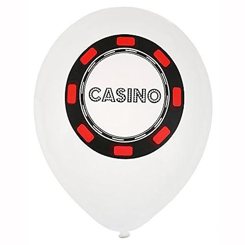 NEU Luftballon Poker, 8 Stück, Ø 23 cm