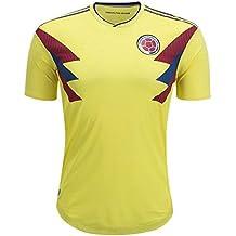 GDSQ Camiseta Colombiana 2018 Copa del Mundo Uniforme del Equipo Nacional De Fútbol De México Colombia