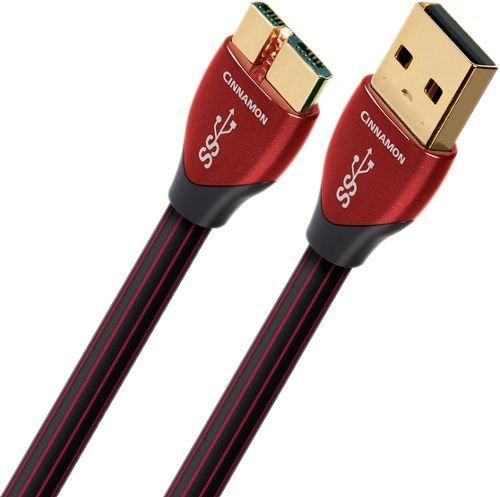 Audioquest 0.75m Cinnamon Micro 3.00.75m USB A Micro B Männlich Männlich Schwarz Kabel USB-Kabel USB (0,75m, USB A, Micro B, 3.0(3.1Gen 1), männlich/männlich, schwarz)