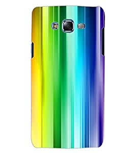 ColourCraft Colourful Bars Design Back Case Cover for SAMSUNG GALAXY J5