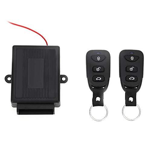 Yiqiane Auto Zubehör 433,92 MHz Universal Car Vehicle Remote Central Kit Türschloss Keyless Entry System zum Auto Automobil Kraftfahrzeug Fahrer Audio Entry Kit