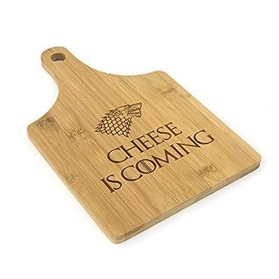 Game of Thrones inspiré–Dinner IS Coming–et servir les planches à découper en bambou gravé Cadeau