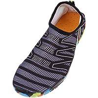 MagiDeal 1 Par Hombres Mujeres Zapatos de Agua Zapatos de Natación Descalzos Playa Calcetines Aqua - 38