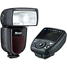 Nissin Di700A + Commander Air 1 - Flash (negro), para Nikon