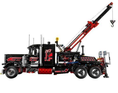 LEGO Technic 8285 - Großer Schwarzer Abschlepptruck