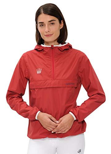SPOOKS Damen Jacke, leichte Damenjacke mit Kapuze, Herbstjacke - Kaya Rain Jacket Red M -