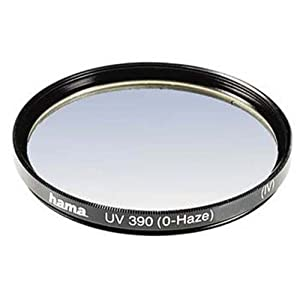 Hama UV and Protective Filter, 4 Coats, for 43 mm Camera Lenses,BLACK, 00070143
