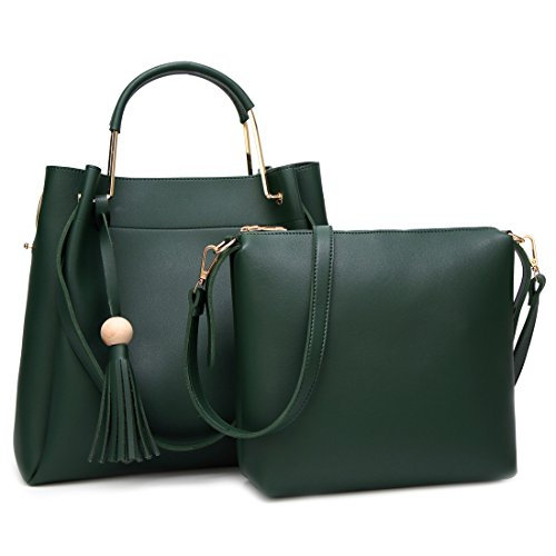 YYW Shoulder Bag, Borsa a mano donna Green