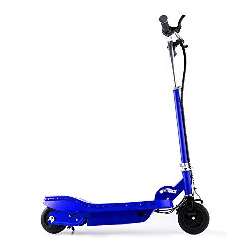 Takira V6 • Trottinette électrique • 120W • 15km/h • éclairage LED • 2 Freins • Bleu