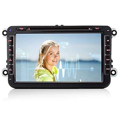 iFreGo-AUTORADIO-8-GPS-Fr-VW-Golf-56PassatTiguanPoloJettaSkoda-Fabia-OctaviaYeti-Seat-LeonTouranCandy-SharanEOS3G-WiFi-GPS-Navigation-NAVI-USB-SD-Bluetooth-DVD-MP3HD7-LED