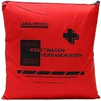 Leina Werke 11200 KFZ-Verbandkissen Standard, Rot/Schwarz preisvergleich bei billige-tabletten.eu