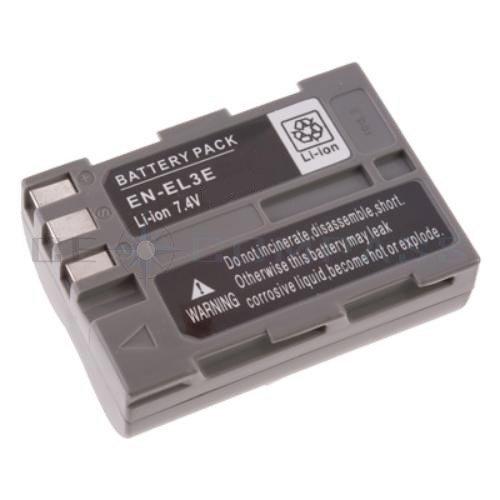 Batterie haute performance 1800 mah avec info chip pour Nikon D50, D70, D70s, D80, D90, D100, D200, D300, D300s D700 - similaire à EN-EL3e Accu Battery