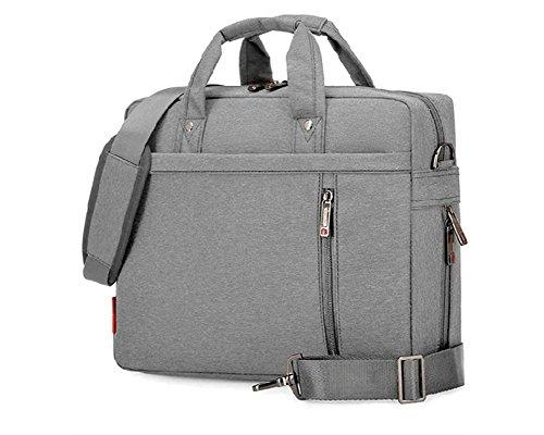 Wasserfeste und 360° stoßfeste Messenger-Bag als Schutz für Ihren Laptop/Notebook mit Handgriff und Schultergurt Grau 17 Inch - Compaq Stift
