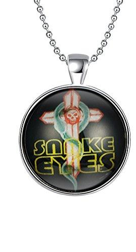 sunifsnow Frauen Halloween Geschenke Luminous Snake Eyes Ghost Kreuz (Clearance Prop Halloween)