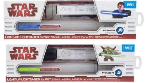 Wii Star Wars Lichtschwert Doppelpack - Lightsaber Yoda und Anakin - Wii-lichtschwert