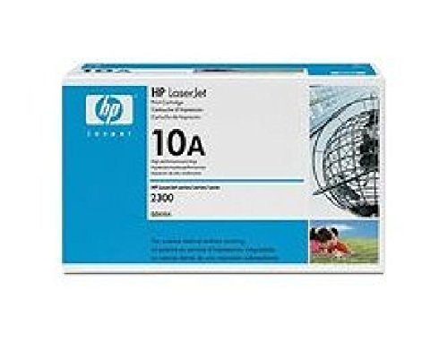 Q2610A HP Toner Cartridge 10A Schwarz HP 10A ca. 6000 Seiten für Laserjet 2300-Serie. -