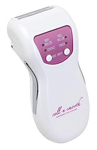 Epilierer roll-n-smooth DELUXE SET - dauerhaft weiche Haut ohne nachwachsene Haare