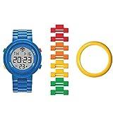 Lego - Montre Lego adulte Digifigure - Homme - Bleue