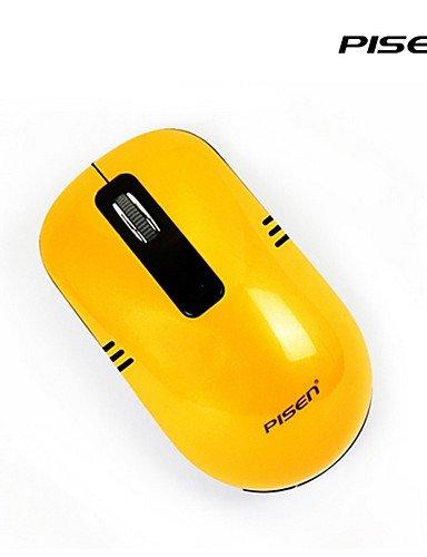 rahtlose optische Mini-Maus-M103 2,4 g nano schnurlosen Empfänger 800/1600 dpi PC Desktop , brown (1600 Kostüme)