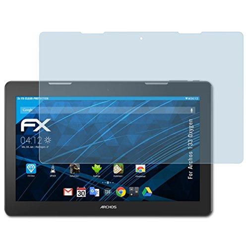 atFolix Schutzfolie kompatibel mit Archos 133 Oxygen Folie, ultraklare FX Bildschirmschutzfolie (2X)