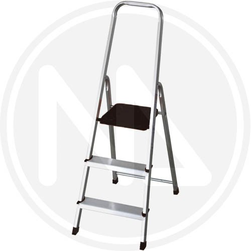 Escalera Aluminio Maurer Domestica Profesional. En131 7 Peldaños