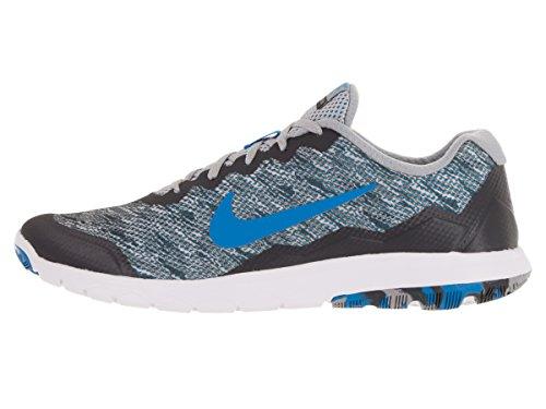 Nike Herren Flex Experience Rn 4 Prem Laufschuhe Gris (Gris (Dark Grey/Pht Bl-Wlf Gry-White))