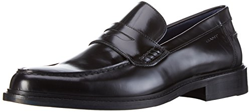 Gant Harry, Mocassins Homme Noir - Schwarz (black G00)