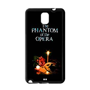 Phantom of The Opera Mask Lighting Samsung Galaxy Note 3 N900 Here Comes Amazing hard Cover Case