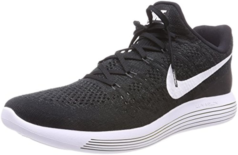 Nike Lunarepic Low Flyknit 2, Zapatillas de Trail Running para Hombre, Negro (Black/White/Anthracite 001), 40.5 EU