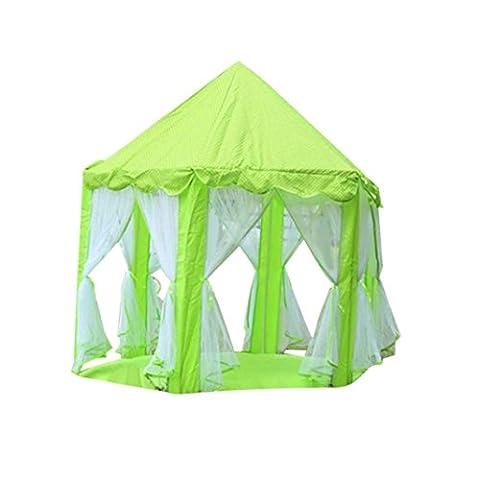 Hunpta Jeu tentes Château de princesse pour enfant Tente Maison de jeu pour enfants Funny Portable Tente bébé jouer Plage Jouets pour camping Camping
