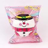 BeesClover Kreatives Leben 6cm PU Weihnachtsmann/Schneemann Ball Langsam Steigendes Spielzeug Puppe...