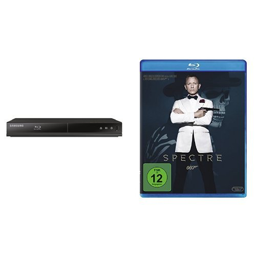 Samsung BD-J4500/4500R Blu-ray Player & James Bond - Spectre [Blu-ray]