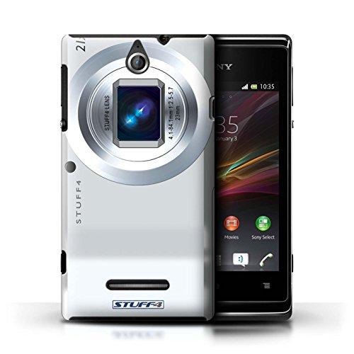 Kobalt® Imprimé Etui / Coque pour Sony Xperia E / Caméscope conception / Série Appareil Photo Compact