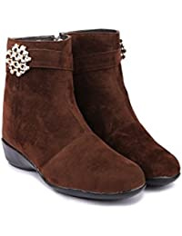 CATT Stylish Fashionable Trendy Footwear Collection -Suede Long Boot For Women & Girl