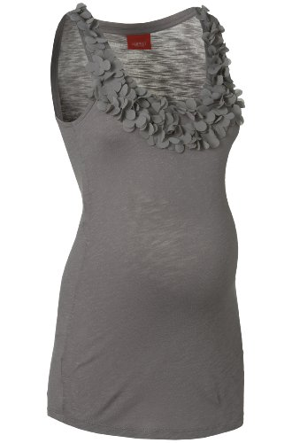 ESPRIT umstandsmode grossesse &top maillot pour femme comfort fit q84721 Gris - Grau (grey melange 025)