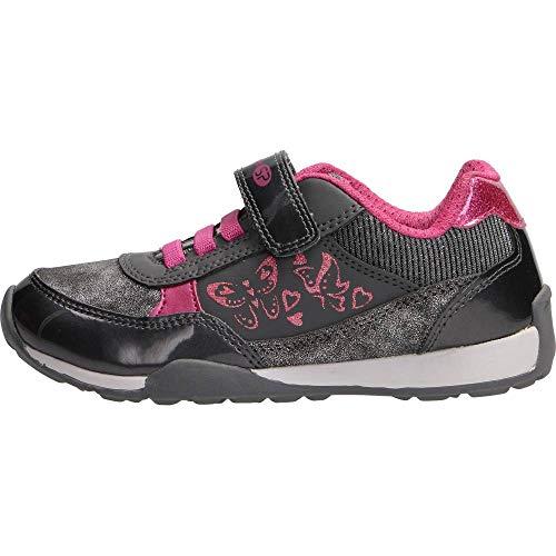 Zapatillas para niña, Color Gris, Marca GEOX, Modelo Zapatillas para Niña GEOX J94G2A Gris