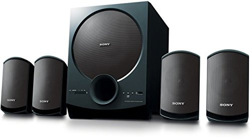 Victory Global SA-D40 C E12 4.1 Channel Multimedia Speaker System with Bluetooth(Black)