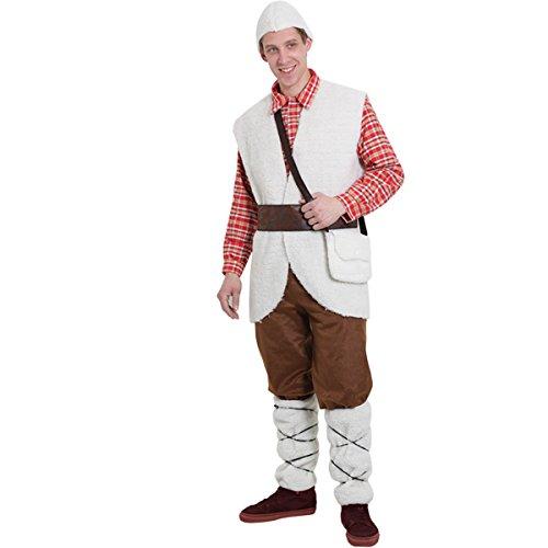 Pegasus Vestito Costume Maschera Natale - Pastore Adulto - Taglia L - 48/50 Uomo