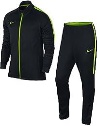 Nike M NK DRY Acdmy TRK K Chándal, Hombre, Negro (Black / Black / Electric Green), L