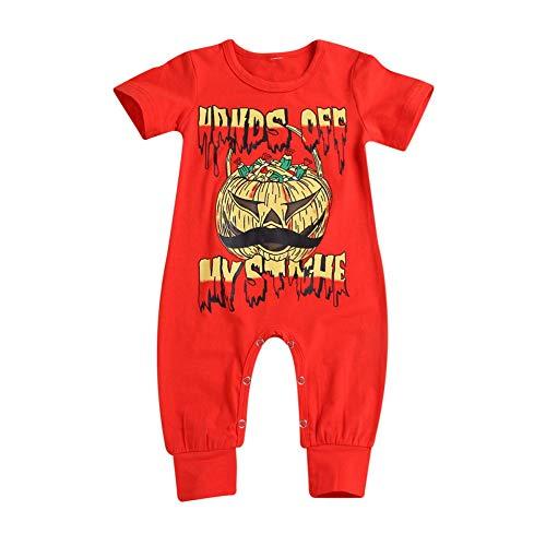 Alte Kostüm Scary - Shiningbaby Halloween Strampler Baby Unisex Kürbis Kleidung Kurzarm Neugeborenen Scary Kostüme