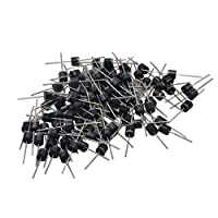 ‏‪100PCS/Set 15A 45V Schottky Barrier Diodes High efficiency diodes Solar Panel DIY Low Power Loss High Efficiency Diodes Kits‬‏