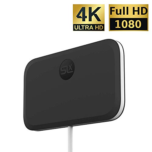 SLx Indoor TV Antenne Ultra Compact für Digital TV 4K HD