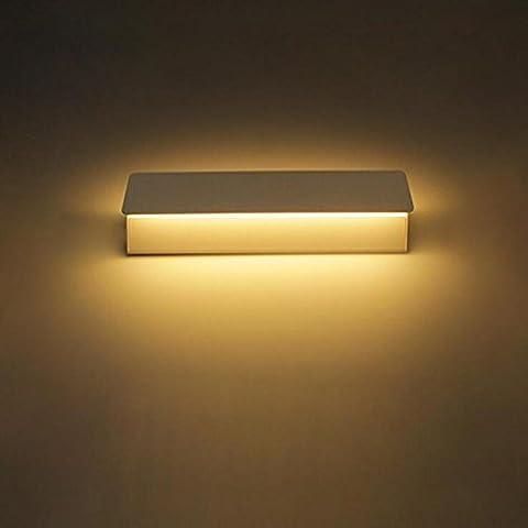 XIAOJIA Modern Minimalist Creative Personality Flip Aluminum LED Wall Lamp Living Room Bedroom Porch Lighting Night Lights , B