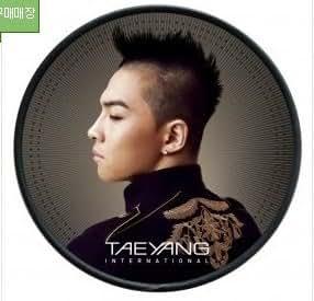 Kpop CD, TAEYANG - SOLAR [INTERNATIONAL] CD + DVD BIGBANG + FREE GIFT(Folded Bigbang Poster + 3 Mask Pack Sheets)