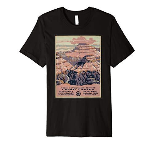 US National Park Grand Canyon American Travel T-Shirt -