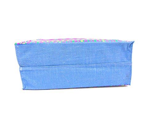 Borsa mare Gian Marco Venturi mod.medio rettangolare 43470 blu
