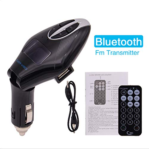 EINCAR Drahtloser Bluetooth FM-Transmitter All-in-One USB/SD/AUX-Auto-MP3-Player USB-Auto-Ladeger?t Freisprechen-Radio Audio Adpater Car Kit mit 3,5-mm-Audio-Anschluss, TF-Karten-Slot