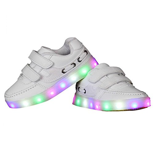 Levou Tênis Usb Speedeve De Led Luzes Meninos Desportivos Piscar Sapatilhas Instrutor Meninas Crianças Cores Sapatos Carregamento Brancos Sapatos 7 zzrwpqaE